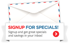 Signup to receive our newsletter of email specials and save on your next floral purchase.