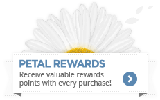 Earn valuable rewards points with each purchase! Reddem them for flowers, gift baskets, or anything on our site.